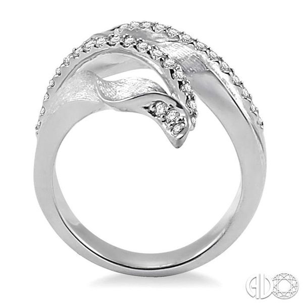1/2 Ctw Round Cut Diamond Fashion Ring in 14K White Gold Image 3 Becker's Jewelers Burlington, IA
