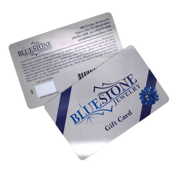 Bluestone Gift Card- $25 Image 4 Bluestone Jewelry Tahoe City, CA