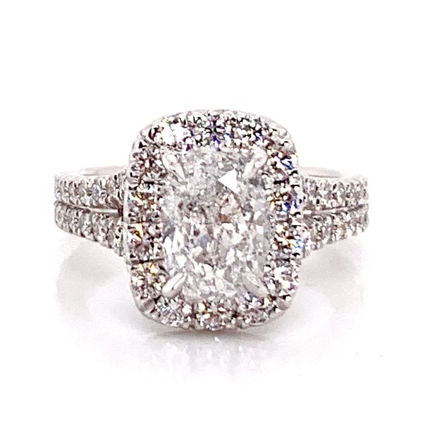 Henri Daussi Diamond Engagement Ring (3.17 ctw) Bremer Jewelry Peoria, IL