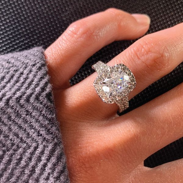 Henri Daussi Diamond Engagement Ring (3.17 ctw) Image 4 Bremer Jewelry Peoria, IL
