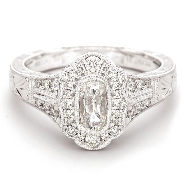 Henri Daussi Diamond Engagement Ring (1.08 ctw) Bremer Jewelry Peoria, IL