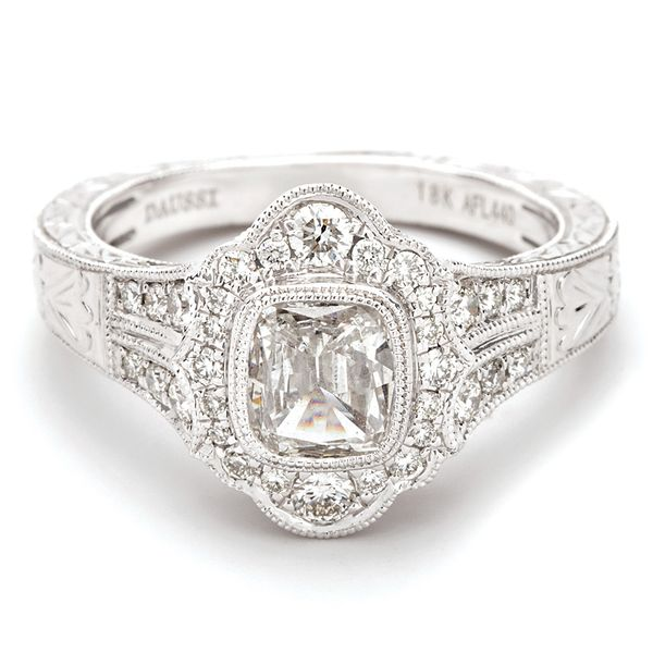 Henri Daussi Diamond Engagement Ring (1.05 ctw) Bremer Jewelry Peoria, IL