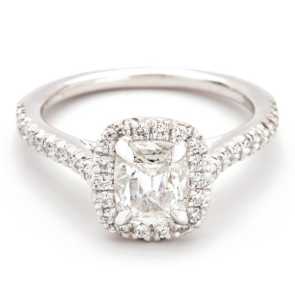 Henri Daussi Diamond Engagement Ring (0.97 ctw) Bremer Jewelry Peoria, IL