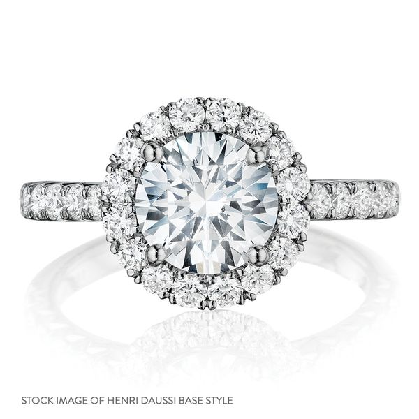 Henri Daussi Diamond Engagement Ring (1.37 ctw) Image 4 Bremer Jewelry Peoria, IL