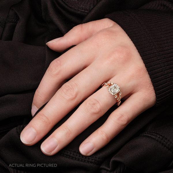 Henri Daussi Diamond Engagement Ring (1.28 ctw) Image 3 Bremer Jewelry Peoria, IL