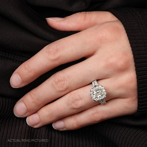 Henri Daussi Diamond Engagement Ring (1.91 ctw) Image 3 Bremer Jewelry Peoria, IL