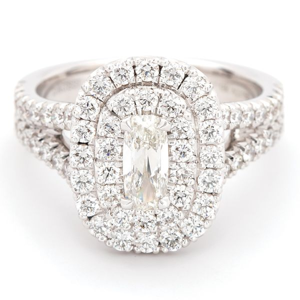 Henri Daussi Diamond Engagement Ring (1.60 ctw) Bremer Jewelry Peoria, IL