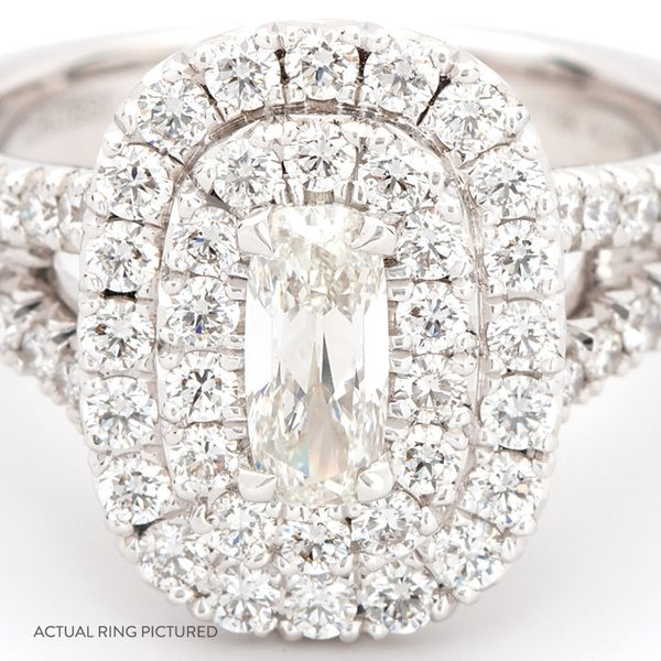 Henri Daussi Diamond Engagement Ring (1.60 ctw) Image 2 Bremer Jewelry Peoria, IL