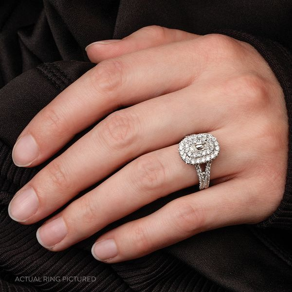 Henri Daussi Diamond Engagement Ring (1.60 ctw) Image 3 Bremer Jewelry Peoria, IL
