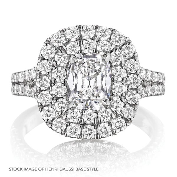 Henri Daussi Diamond Engagement Ring (1.60 ctw) Image 4 Bremer Jewelry Peoria, IL