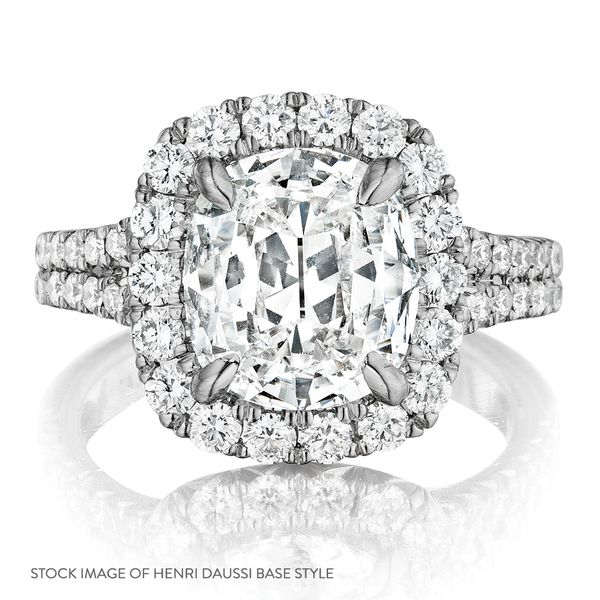 Henri Daussi Diamond Engagement Ring (1.39 ctw) Image 4 Bremer Jewelry Peoria, IL