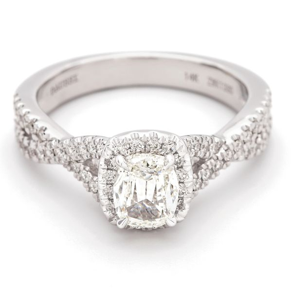 Henri Daussi Diamond Engagement Ring (1.03 ctw) Bremer Jewelry Peoria, IL