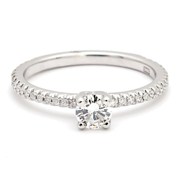 Simply Elegant Diamond Engagement Ring in White Gold (0.45 ctw) Bremer Jewelry Peoria, IL