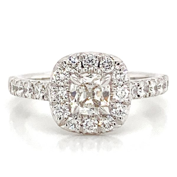 Henri Daussi Diamond Engagement Ring (1.24ctw) Bremer Jewelry Peoria, IL