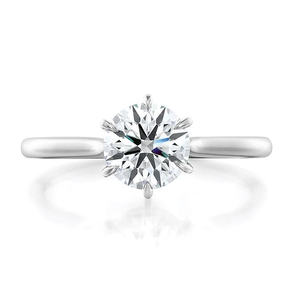 Hearts On Fire Camilla White Gold Engagement Ring Setting Bremer Jewelry Peoria, IL