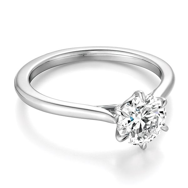 Hearts On Fire Camilla White Gold Engagement Ring Setting Image 2 Bremer Jewelry Peoria, IL