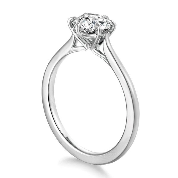 Hearts On Fire Camilla White Gold Engagement Ring Setting Image 3 Bremer Jewelry Peoria, IL