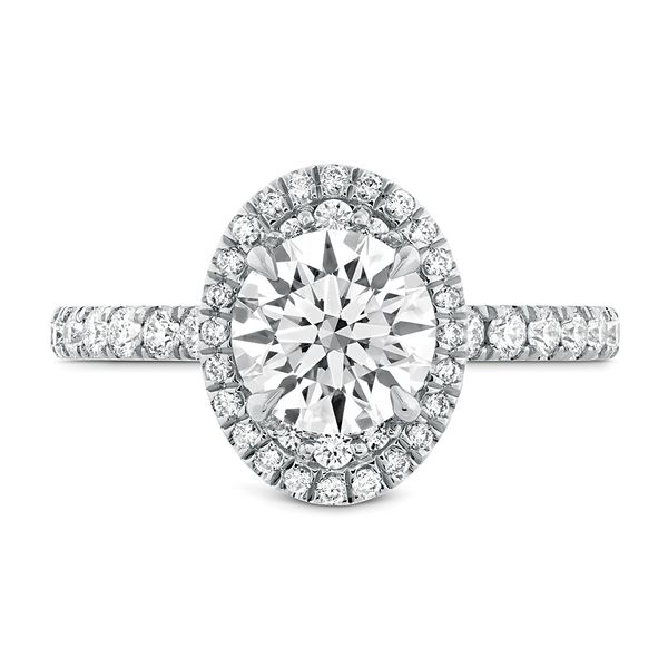 Hearts On Fire Juliette White Gold Diamond Engagement Ring Setting Bremer Jewelry Peoria, IL