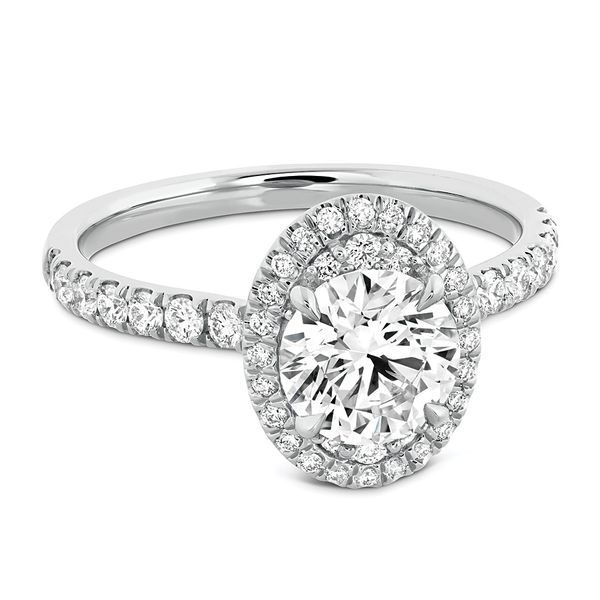 Hearts On Fire Juliette White Gold Diamond Engagement Ring Setting Image 2 Bremer Jewelry Peoria, IL