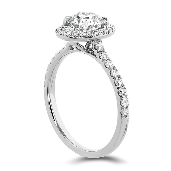 Hearts On Fire Juliette White Gold Diamond Engagement Ring Setting Image 3 Bremer Jewelry Peoria, IL
