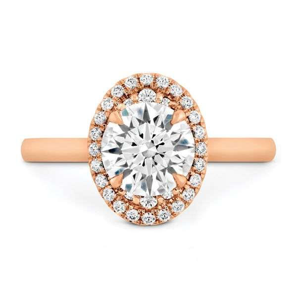 Hearts On Fire Juliette Rose Gold Diamond Engagement Ring Setting Bremer Jewelry Peoria, IL