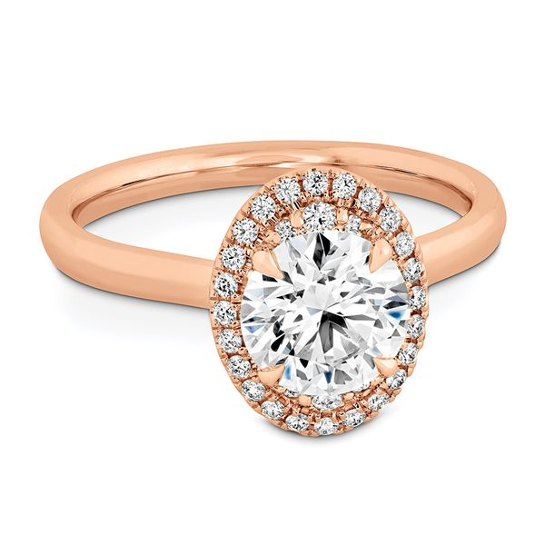 Hearts On Fire Juliette Rose Gold Diamond Engagement Ring Setting Image 2 Bremer Jewelry Peoria, IL