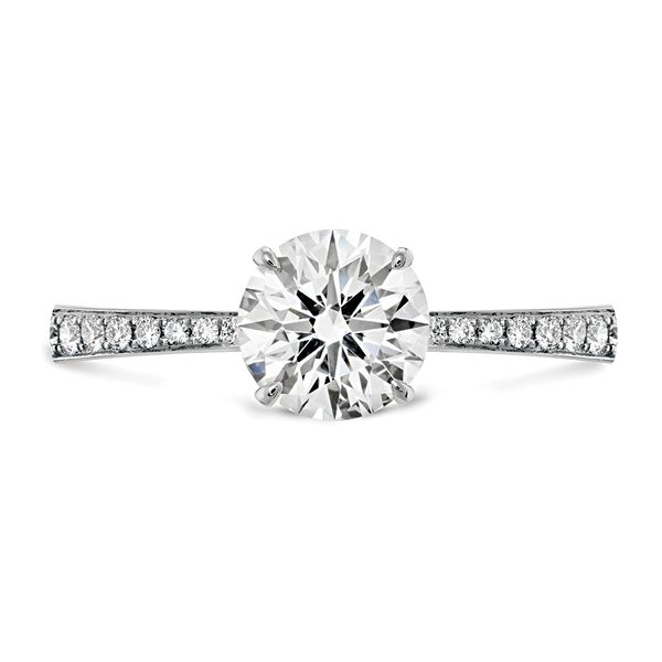Hearts On Fire Signature Diamond Engagement Ring in White Gold Bremer Jewelry Peoria, IL