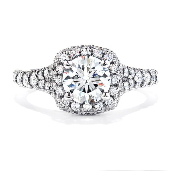 Hearts On Fire Acclaim White Gold Diamond Engagement Ring Setting Bremer Jewelry Peoria, IL