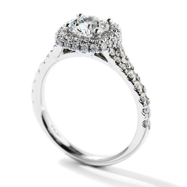 Hearts On Fire Acclaim White Gold Diamond Engagement Ring Setting Image 2 Bremer Jewelry Peoria, IL