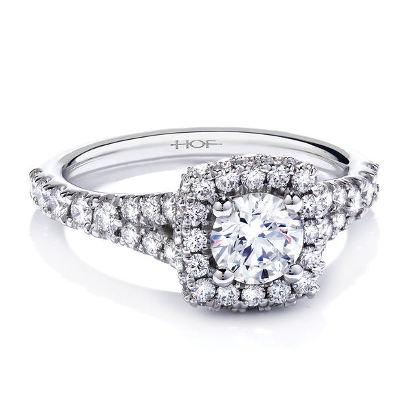 Hearts On Fire Acclaim White Gold Diamond Engagement Ring Setting Image 3 Bremer Jewelry Peoria, IL