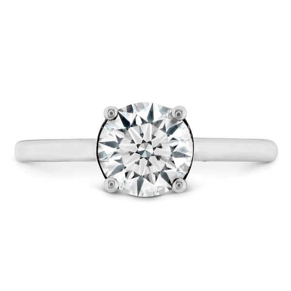 Hayley Paige by HOF Sloane Silhouette Engagement Ring in White Gold Bremer Jewelry Peoria, IL