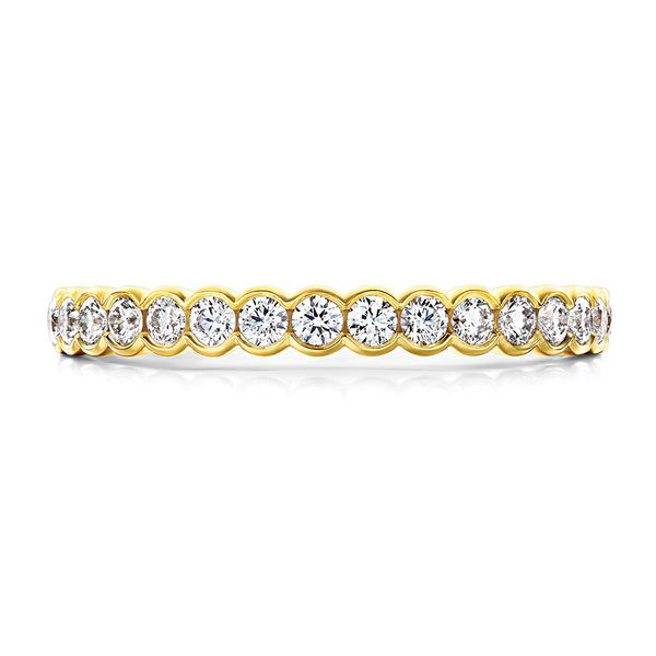 Hearts On Fire Isabelle Yellow Gold Diamond Wedding Band Bremer Jewelry Peoria, IL
