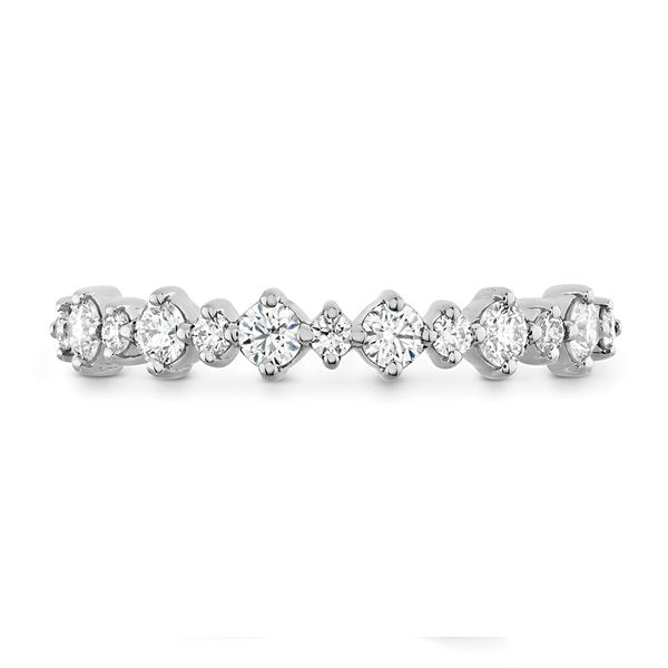 Hearts On Fire Gracious Diamond Wedding Band in White Gold Bremer Jewelry Peoria, IL