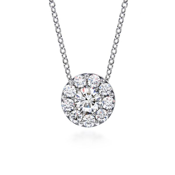Hearts On Fire Fulfillment Diamond Necklace in White Gold Bremer Jewelry Peoria, IL