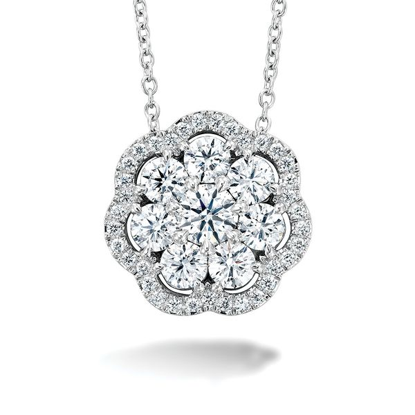 Hearts On Fire Aurora Diamond Necklace in White Gold Bremer Jewelry Peoria, IL