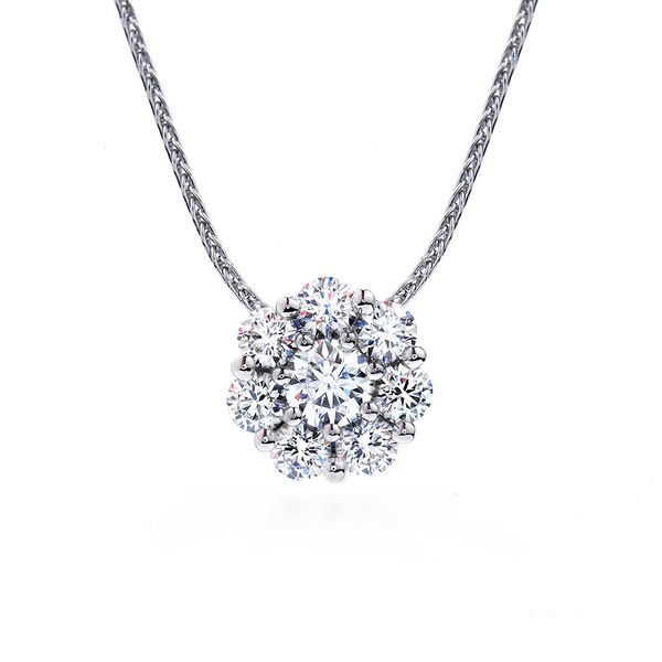 Hearts On Fire Beloved White Gold Diamond Necklace Bremer Jewelry Peoria, IL