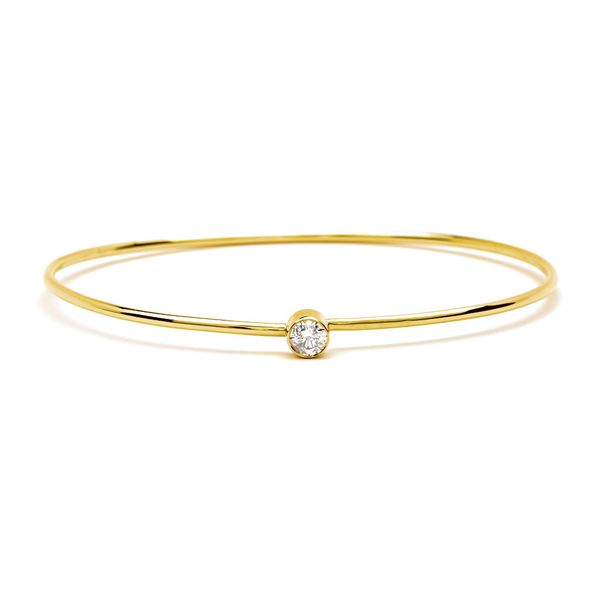 Bremer Jewelry Power Of One Yellow Gold Diamond Bracelet Bremer Jewelry Peoria, IL