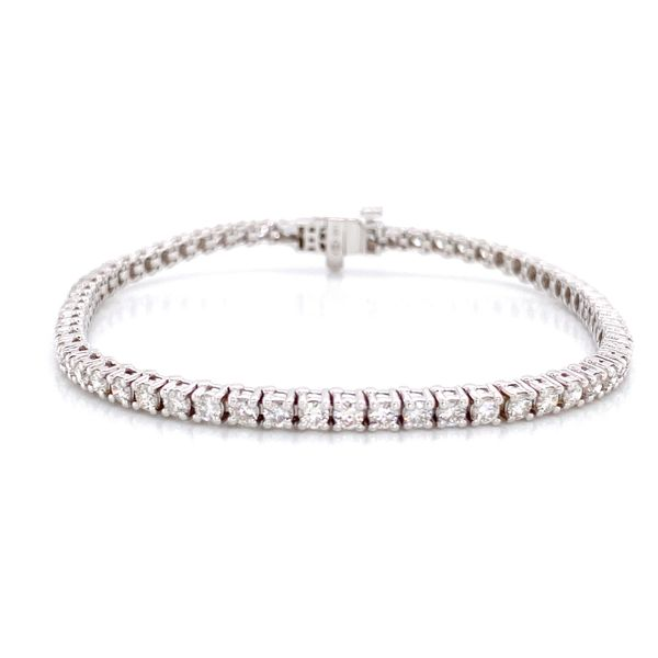 Diamond Tennis Bracelet in White Gold (3.00 ctw) Bremer Jewelry Peoria, IL