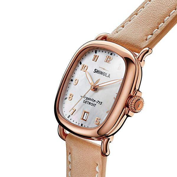 Shinola The Guardian Two-Tone Watch Image 2 Bremer Jewelry Peoria, IL