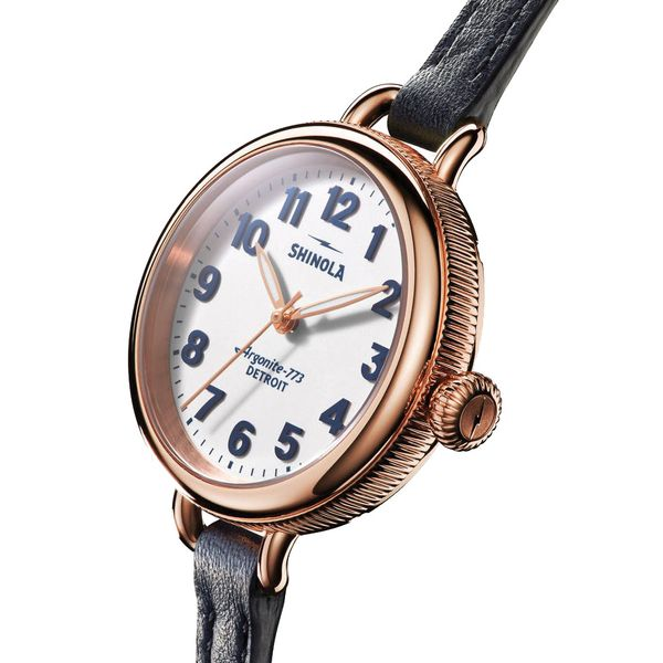Shinola The Birdy 34mm Rose Gold Plated Watch Image 2 Bremer Jewelry Peoria, IL