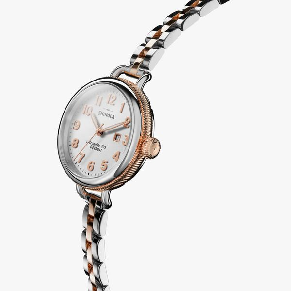 Shinola The Birdy 34mm Stainless Steel Watch Image 2 Bremer Jewelry Peoria, IL