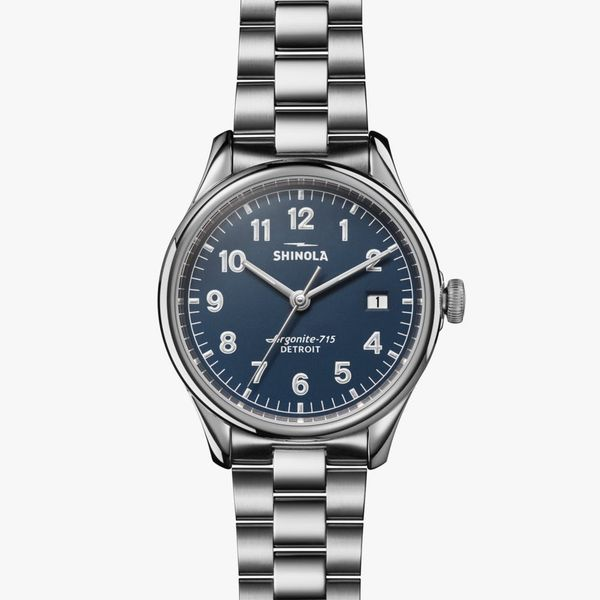 Shinola The Vinton 38mm Stainless Steel Watch Bremer Jewelry Peoria, IL