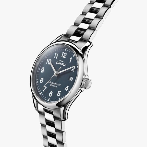 Shinola The Vinton 38mm Stainless Steel Watch Image 2 Bremer Jewelry Peoria, IL