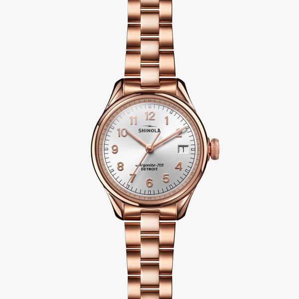 Shinola The Vinton 32mm Rose Gold PVD Watch Bremer Jewelry Peoria, IL