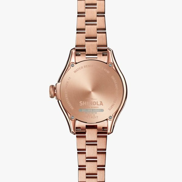 Shinola The Vinton 32mm Rose Gold PVD Watch Image 3 Bremer Jewelry Peoria, IL
