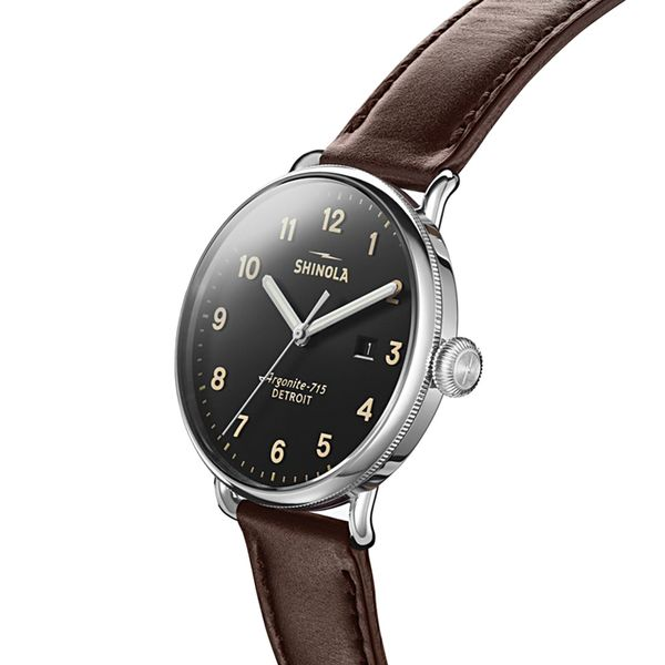 Shinola The Canfield Stainless Steel Watch Image 2 Bremer Jewelry Peoria, IL