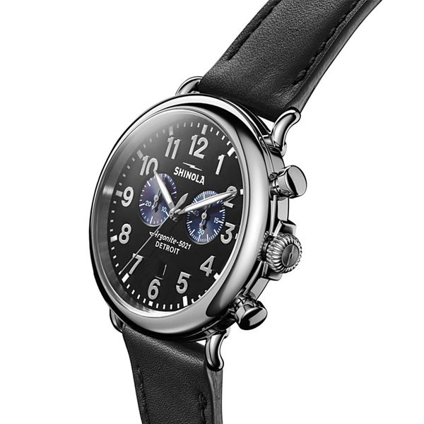 Shinola The Runwell Chrono Stainless Steel Watch Image 2 Bremer Jewelry Peoria, IL