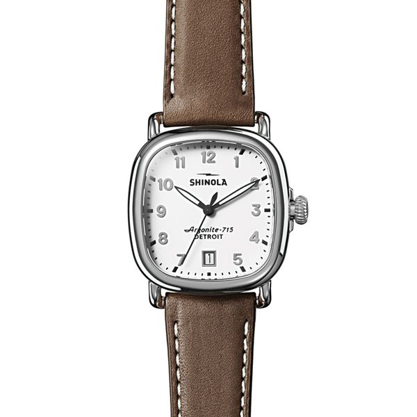 Shinola The Guardian 36mm Stainless Steel Watch Bremer Jewelry Peoria, IL