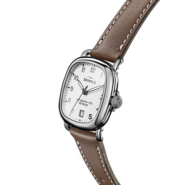 Shinola The Guardian 36mm Stainless Steel Watch Image 2 Bremer Jewelry Peoria, IL