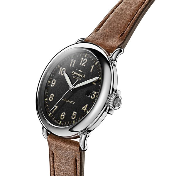 Shinola The Runwell Automatic Stainless Steel Watch Image 2 Bremer Jewelry Peoria, IL